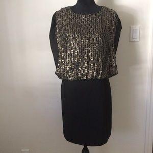 Shoshanna beaded embellished dress